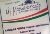Magyar Fejlesztési Terv pályázata